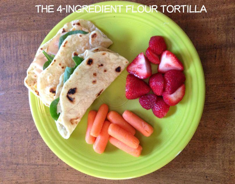 Easy homemade flour tortillas to rival Pancheros