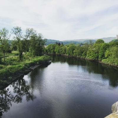 A river runs through Stirling...